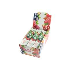 Батончик ВИШНЯ-КЛЮКВА Шоубокс  Fit&Fruit